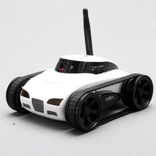 NEW 2017 Mini RC I Spy WIFI Tank Car Video 0.3MP Camera 777-270 WiFi Remote Control By Iphone Android Tank with Camera 4CH APP(China)