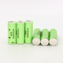 6 UNIDS NCR18500A 2000 mah Li-Ion Batería Recargable para panasonic Nuevo Original 3.6 v batería de li-ion