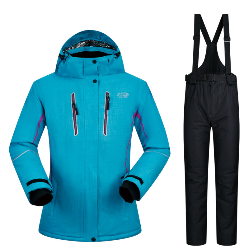 Ski Suit Women Winter New Windproof Breathable Waterproof Women Snow Jacket and Pants Sets Warm Clothes Sets Snowboarding SuitSki Suit Women Winter New Windproof Breathable Waterproof Women Snow Jacket and Pants Sets Warm Clothes Sets Snowboarding Suit