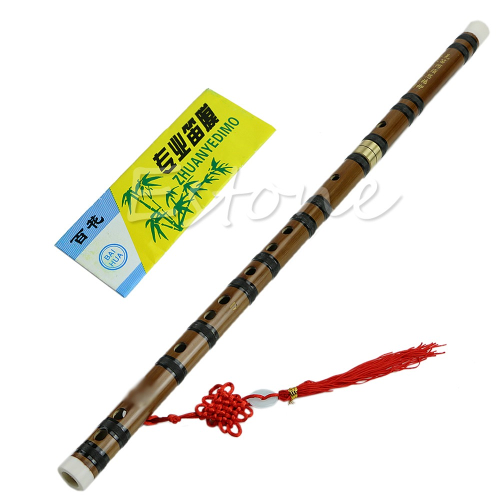купить Popular Handmade Chinese Traditional Musical Instrument Bamboo Flute in D Key