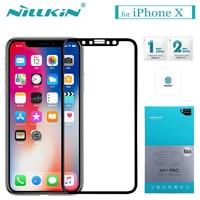 Nilkin For IPhone X Glass Screen Protector Nillkin 3D AP PRO 0 23mm Full Cover Anti