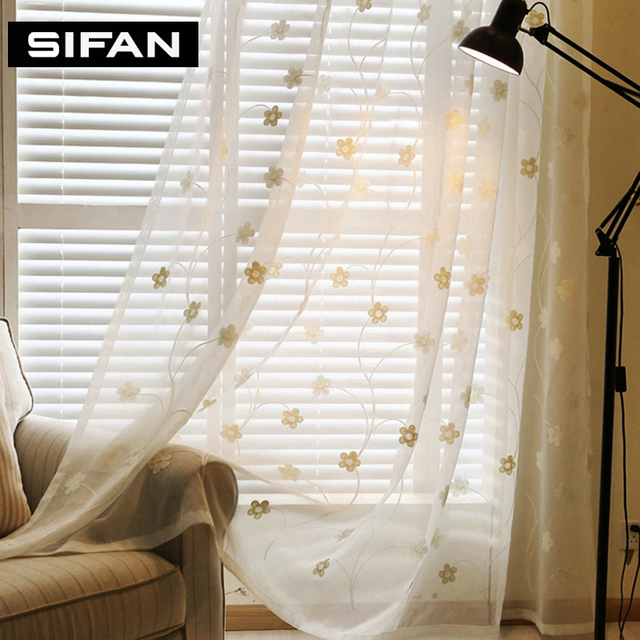2017new whiteblue flowers embroidered tulle curtains for living 2017new whiteblue flowers embroidered tulle curtains for living room for the bedroom sheer voile mightylinksfo