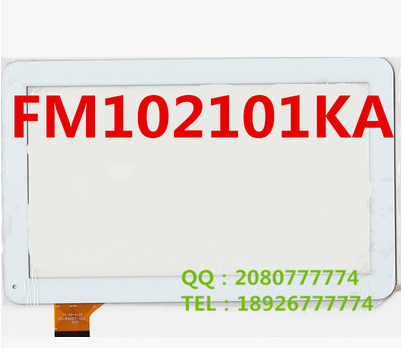 New original 10.1 inch table capacitive touch screen FM102101KA white free shipping