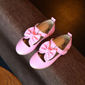 Bowknot Children Shoes Toddler Girls Sandals Flower Kids Summer PU Leather Princess Sandals For Girls Flat Shoes Footwear