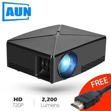 AUN Proyector C80 UP, 1280x720 Resolution, 2200 Lumens With