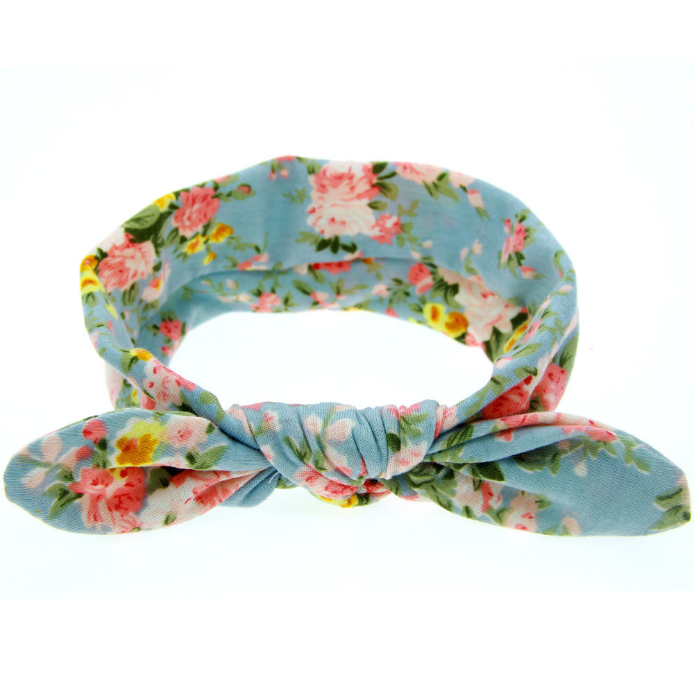 Head Bands For Baby Girls Baby Rabbit Ears Elastic Hair Bands Flowers Bowknot Headband Baby Haarband