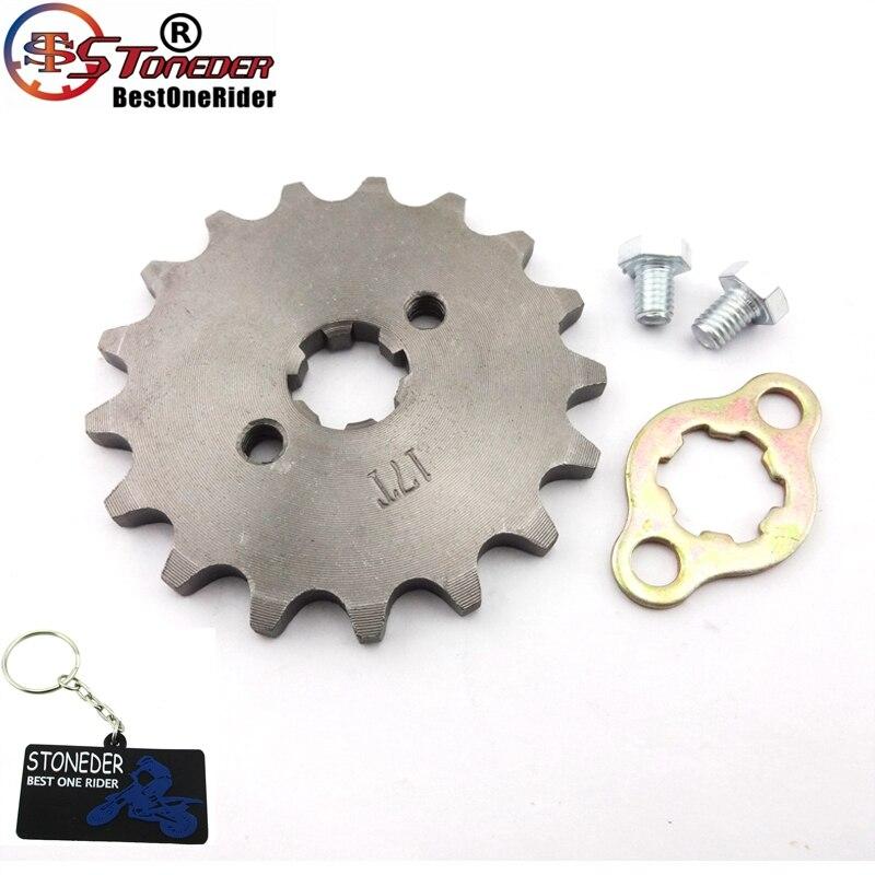 Stoneder 420 17mm 17 Zahn Vor Kettenrad Getriebe Für 50cc 70cc 90cc 110cc 125cc 140cc 150cc 160cc Motor Pit Dirt Bike Atv Neueste Technik