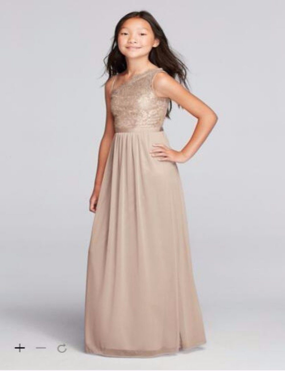 2016 long chiffon a line junior bridesmaid dresses one shouder 2016 long chiffon a line junior bridesmaid dresses one shouder lace bodice and floor length chiffle skirt jb9014m junior gowns in bridesmaid dresses from ombrellifo Images