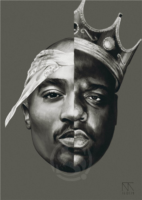 Tupac Poster Top Decor 2pac Custom Canvas Art Home Decoration Cloth Fabric Wall