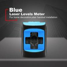 2 линии Портативный зеленый/красный лазерный луч Лазерные уровни выравнивающий инструмент Self-лазер для выравнивания уравнитель с вертикальным горизонтальным по обе стороны линии