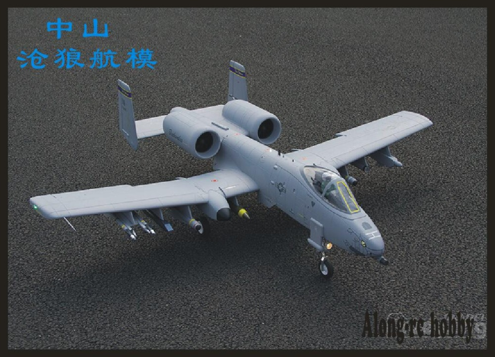 "A-10 Thunderbolt II ""Warthog"" Super Scale Twin 80mm EDF Jet from Freewing  A10 RC MODEL HOBBY  RC AIRPLANE PLANE"