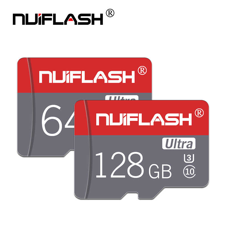Carte Nuiflash Micro SD Class10 8GB classe 6 16 GB/32 GB U1 64 GB/128 GB/256 GB U3 carte mémoire Flash Microsd pour Smartphone
