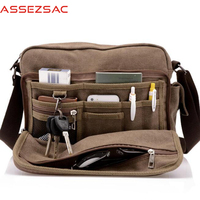 Assez sac new arrival men's messenger bags big capacity handbags men's multifunctional bag crossbody bag handbag clutch DH0184