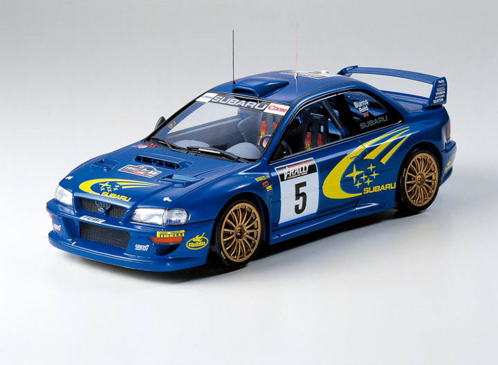 Subaru Panther Wr C99 1/24 Rally Car ( 24218 )