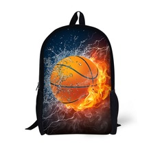 Sport Football Basketball Soccer Printing Backpack Children School Bags For Teenager Boys Backpacks Laptop Backpack star universe printing backpack bag children school bags for teenager boys girls backpacks laptop backpack
