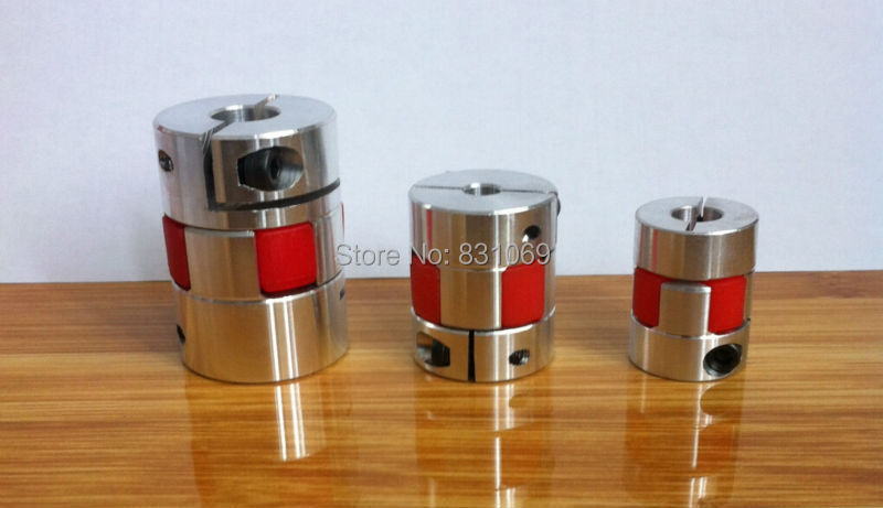 1Pcs BF 12mm x 14mm 12mm to 14mm D30 L42 Flexible Coupling Plum Coupling CNC Shaft Coupler Encoder Connector Brand New cnc plum shaft flexible jaw spider coupler 12mm 14mm motor coupling 12mm to 14mm dia 30mm length 35mm