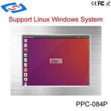 แผงด้านหน้ากันน้ำ Fanless ทนทานแท็บเล็ต Mini 8.4/10.4/12.1/15 นิ้ว intel celeron j1900 Industrial Panel PC