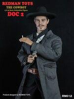 Для коллекции RM012 1/6 весы redman/Игрушки 1/6 Коллекционная Фигурка ковбой DOC 2 Рисунок игрушки куклы полный набор