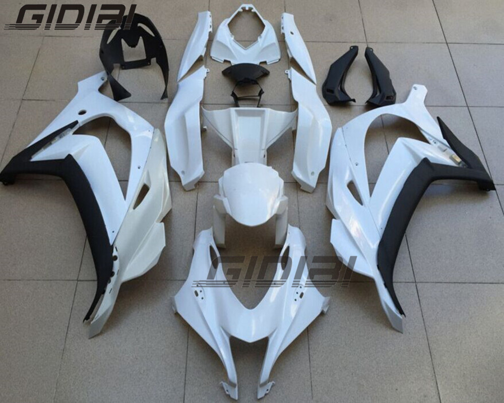 Unpainted ABS Injection Mold Bodywork Fairing Kit For KAWASAKI ZX 10R ZX 10R ZX10R 2016 Up 16 17 +4 Gift