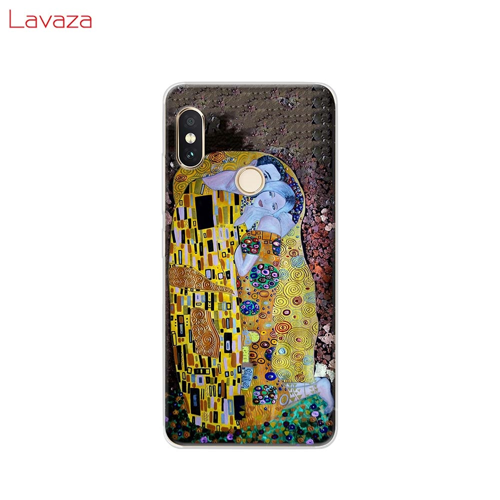 Lavaza Kiss by Gustav Klimt Design Hard Phone Case for Huawei Mate 10 20 P10 P20 P30 Lite Pro P Smart 2019 for Honor 8x Cover in Half wrapped Cases from Cellphones Telecommunications
