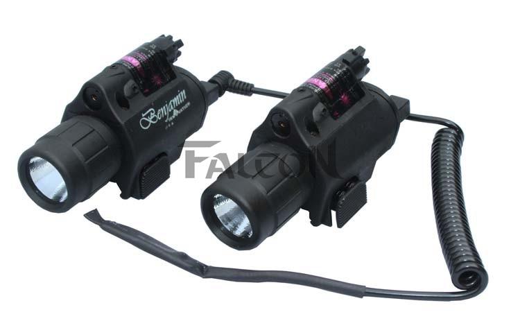 Lampu suluh Combo Baru Merah Dot Laser / Pemandangan Picatinny Rail - Memburu