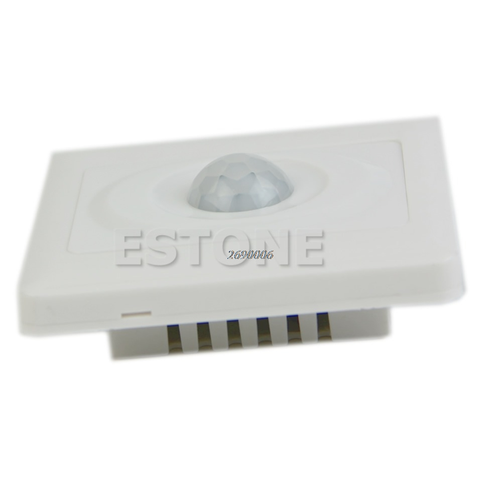 Infrared IR PIR Senser Switch Module Body Motion Sensor Auto On off Lights Lamps ir infrared human body sensor auto lamps holder stand motion sensing switch a14 17