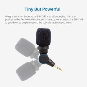 Image 4 - BOYA Saramonic SR XM1 3.5MM Vlog Mic Condenser Microphone for Gopro Hero 8/7/6/5 DJI Osmo Action DJI OSMO Pocket