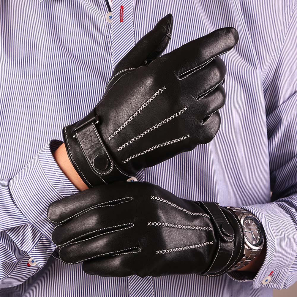 Leather motorcycle gloves best - Mens Italian Leather Gloves Best 2017