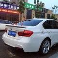2012-2016 F30 m desempenho estilo fibra de carbono tronco spoiler para BMW Série 3 F30 316i 318i 320i 328i 335i M3 carro F80 styling