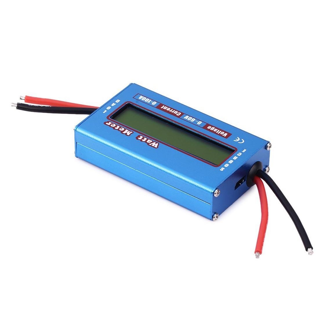 LCD Digital For DC 60V/100A Balance Voltage RC Battery Power Analyzer Watt Meter new 4 8v 60v 150a lcd g t power module rc watt meter tester and power analyzer high precision