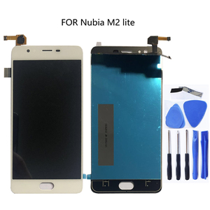 Image 1 - 100% tested 5.5FOR zte nubia M2 Lite M2 youth new NX573J full LCD display + touch screen digitizer component black white