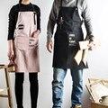 Новый Нордический ветер  хлопок  лен  кухонный фартук для готовки  для женщин  фартук  платье  цветочный магазин  халат  Парикмахерская  карма...