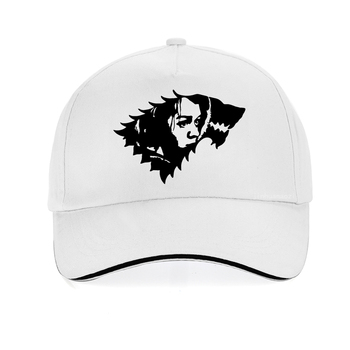 Game of Thrones Baseball Cap Hot Arya Stark Logo hat Adjustable snapback hats Cotton Fashion Unisex Cosplay Caps gorras