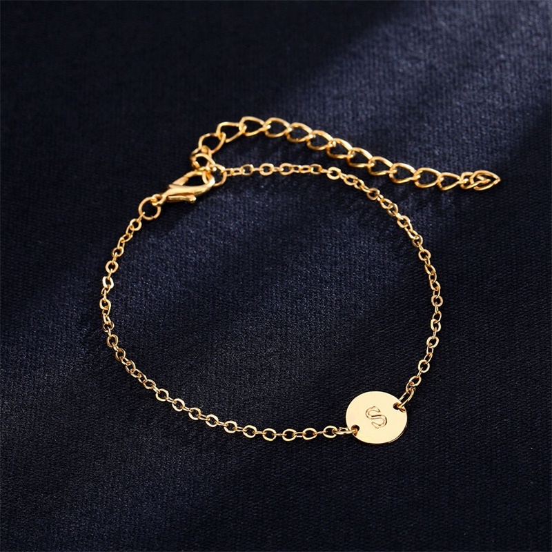 Fashionable Gold Color Bracelet And Bangle For Woman Adjule Simple Bracelets Jewelry