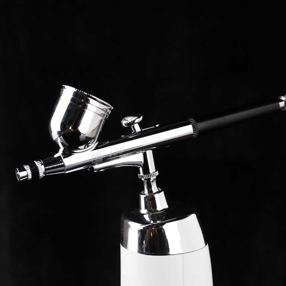 Conjunto de compresor de aire portátil de la pluma de la bomba de pulverización para el arte de la pintura del tatuaje arte modelo de espray hermosos Kits de aerógrafo