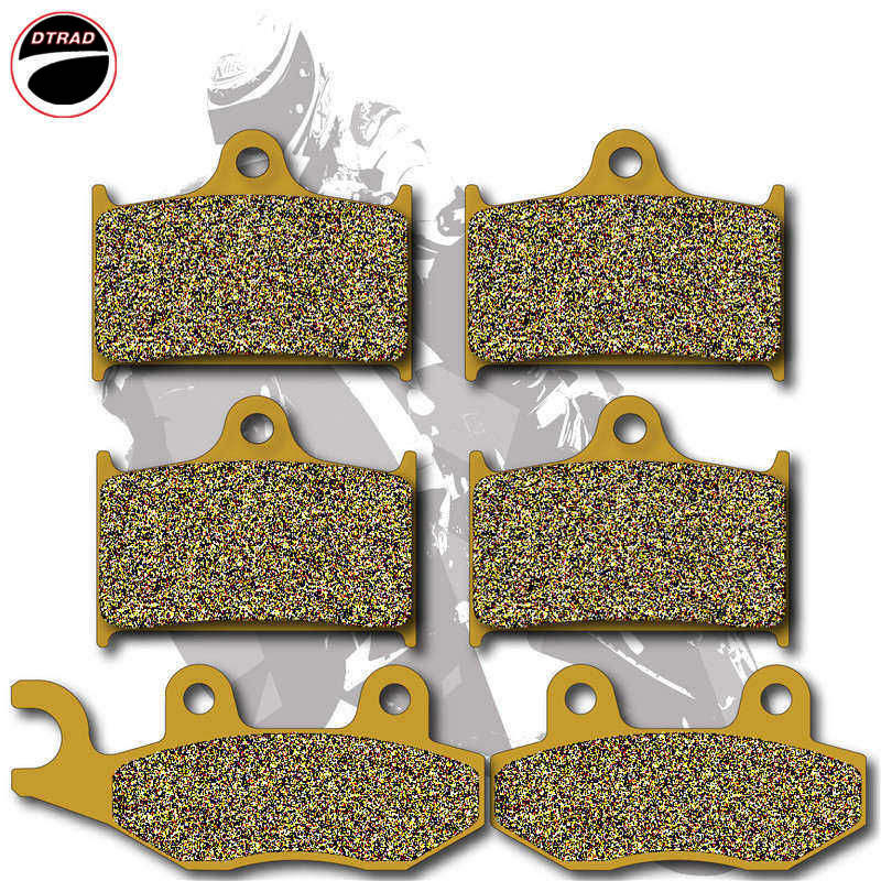 Motorcycle Brake Pads Front+Rear For TRIUMPH Speedtriple 955cc 02-04 Sprint RS 03-04 Sprint ST 99-04 Sprint GT 2010-2011