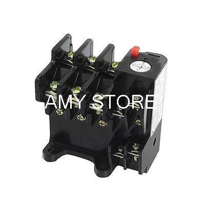 JR36-20 1NO 1NC Three Phase 4.5-7.2A Range Electric Thermal Overload Relay chnt nr2 25 z 4a 6a thermal overload relay cjx2