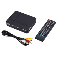 Signal Receiver of TV Fully for DVB T Digital Terrestrial Receiver DVB T2 / H.264 Timer Supports for Dolby