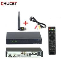 Freesat V7 combo DVB-S2/DVB-T2 Receptor de Satélite Digital con USB WIFI 3G 1080 P Full HD Sintonizador de TV