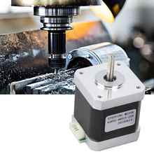 DC2.7V 1.5A High Stability Stepper Motor 2 Phase Bipolar 1.8° Stepper Motor For CNC Engraving Machine 48mm