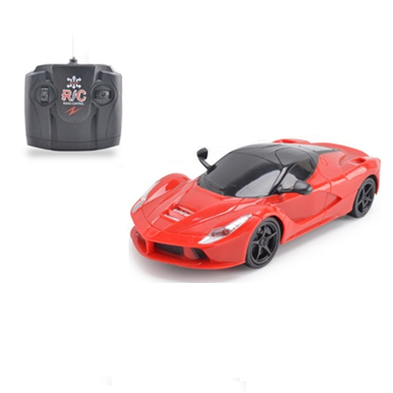 Red / Yellow 1:24 Super Racing Electric RC Cars Mini R/C Radio Remote Control Toy Car For Children Birtday Best Gifts тетрадь на пружине printio тетрадь аниме