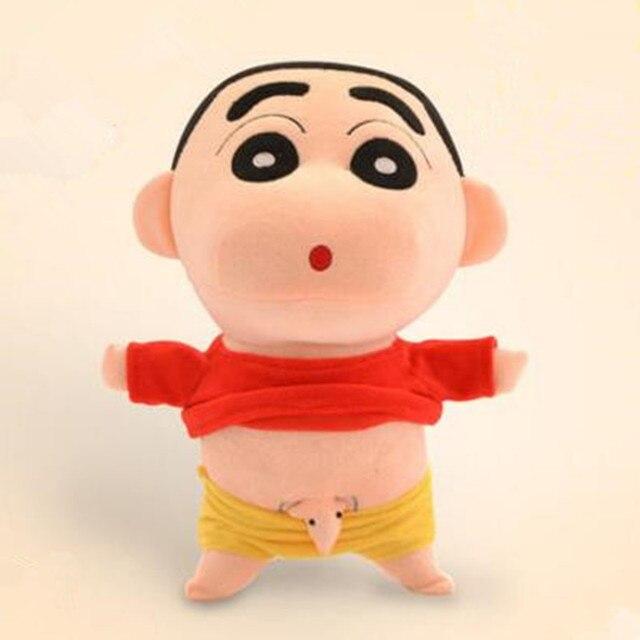 35 Cm Cosplay Anime Jepang Shin-chan Nakal Crayon Shin Chan Boneka Boneka  Mainan Boneka 9126457c7f