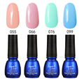 Candy Lover 4 Piece LED Nail Polish Classic Colors UV Gel Long Lasting Nail Gel Polish 8ml 240 Colors for Choice Nail Gel