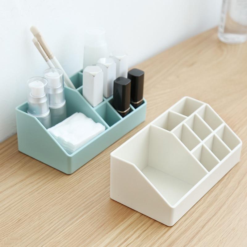 Box Barrel-Organizer Stationery-Pen Lipstick Storage-Tube Makeup-Brush Multi-Function