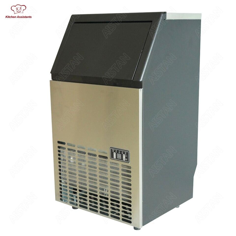 HZB50/60/80 HEIßER 50/65/80kgs/24 H Automatische eismaschine, haushalt ice cube, der maschine für kommerziellen verwenden 220 v/110 v