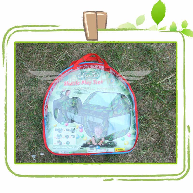 التمويه في الهواء الطلق خيمة الأنفاق 230x70x85 سنتيمتر مقاوم للماء غرفتين خيمة الأنفاق s الصيف شاطئ مسرح خيمة للأطفال اللعب هدية