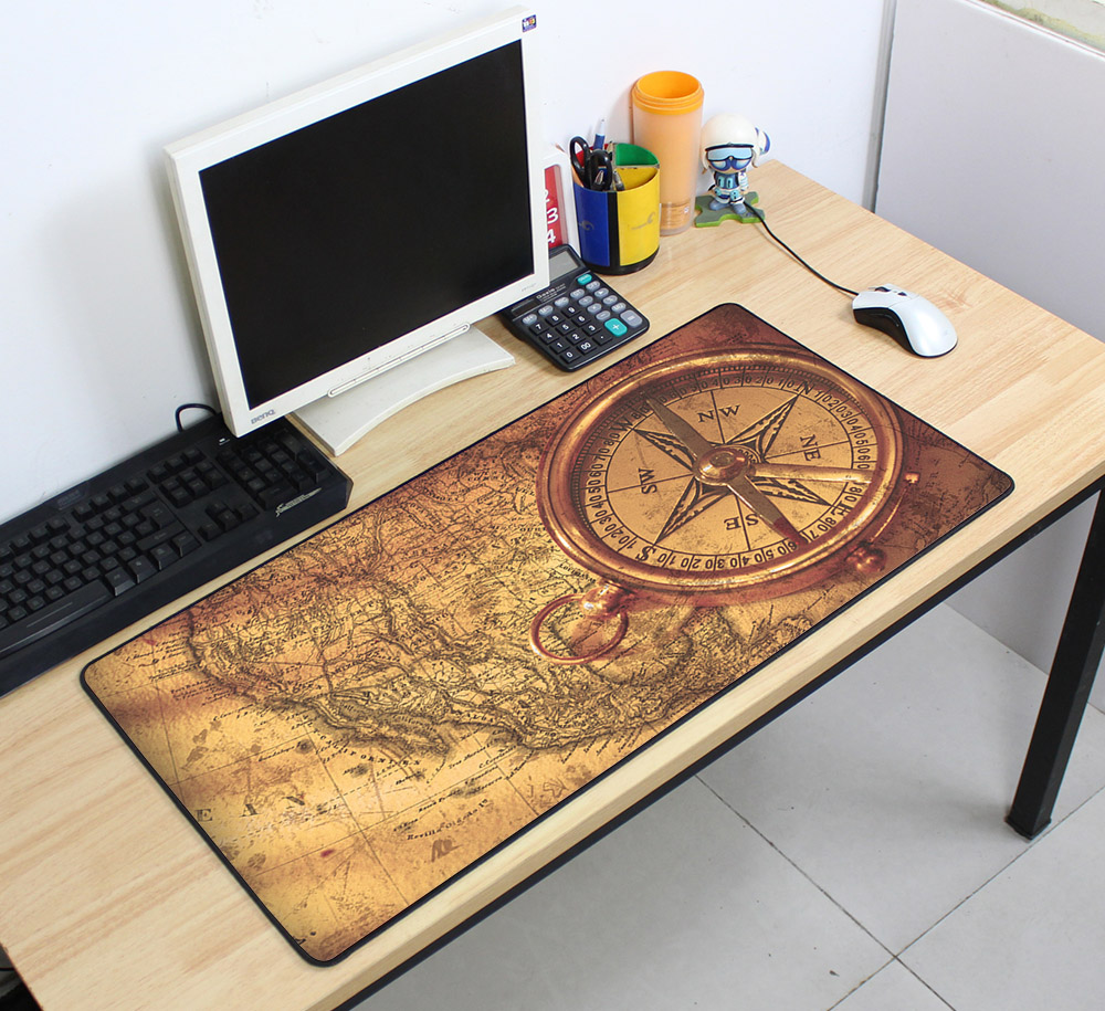 Personality Non-Skid Rubber Large Gaming Mouse Pad Dream Catcher Feather Pattern Mouse Mat Desktop PC Computer Laptop Mousepad недорго, оригинальная цена