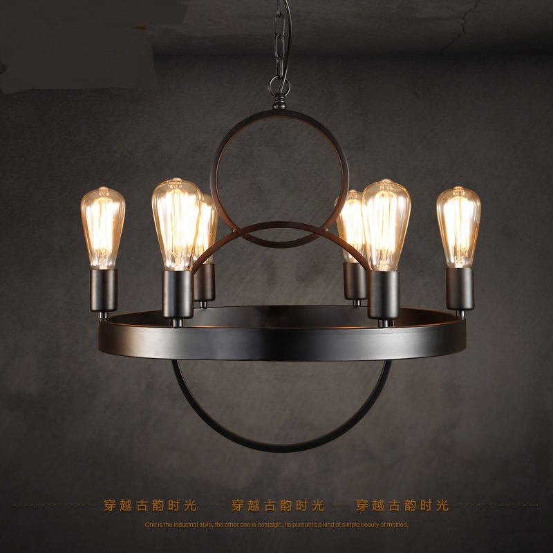 Loft industrial style dining room  American retro clothing store decoration  Internet cafe bar pendant lights LO819 edison inustrial loft vintage amber glass basin pendant lights lamp for cafe bar hall bedroom club dining room droplight decor