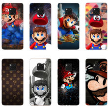 Funny cartoon animation Super Marios soft silicone TPU phone cover case for Huawei Mate10 Mate20 P8 P9 P10 P20 Pro Lite