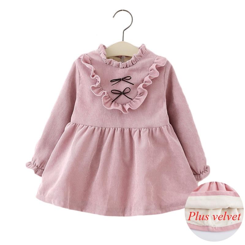 fd56f02747f3 Dropwow 2018 autumn winter children Dress infant baby clothes dress ...